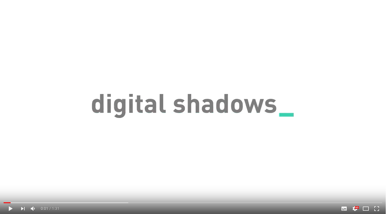 Digital Shadowsご紹介動画
