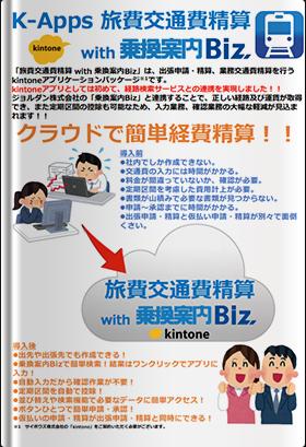 K-Apps 旅費交通費精算 with 乗換案内Biz