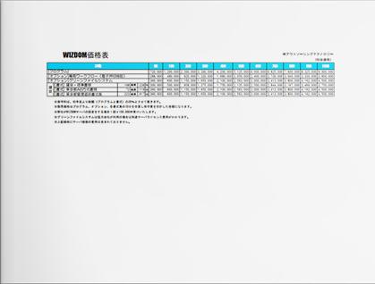 WIZDOM価格表(50ID-1000ID)